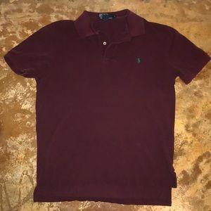 Ralph Lauren Polo Shirt Maroon